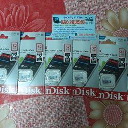 thẻ nhớ sandisk 32gb micro sd giá sỉ