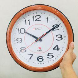Đồng hồ treo tường hình tròn giã gỗ Vati s35 - cực sang trọng giá sỉ