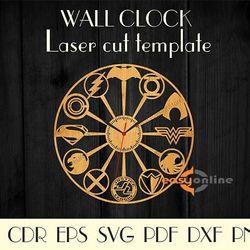 đồng hồ treo tường màu đen giá sỉ