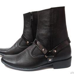 Giày boot nam da bò thật MS B96 giá sỉ