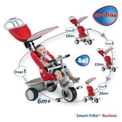 Xe đạp 3 bánh trẻ em thông minh Smart - Trike Recliner