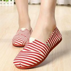 Giày nữ bánh mì kiểu dáng đơn giản cá tính-158