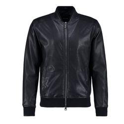 Áo khoác da nam cổ bo lót lông LD140 giá sỉ