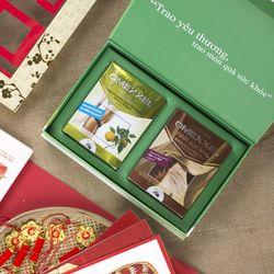 Hộp quà Tết Như Ý 1 - Thực phẩm chăm sóc sức khỏe và sắc đẹp Omexxel dành cho phái nữ giá sỉ, giá bán buôn