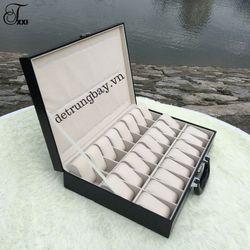 hộp đựng đồng hồ dạng valy 24 12 chiếc giá sỉ