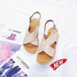 giày sandal quai chéo bản to sarisiu srs60 giá sỉ