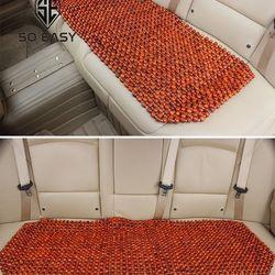 Tấm miếng Đệm lót dành cho băng dải ghế sau xe hơi ô tô xe tải bằng hạt gỗ hương 12cm 45 x 120 cm DL02 giá sỉ
