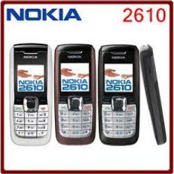 NOKIA 2610 CHƯA PIN SẠC lmk