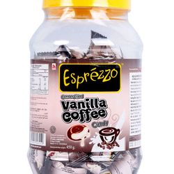 Kẹo Vanila Coffee Esprezzo hủ 450gr