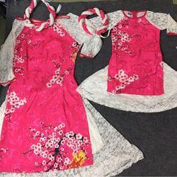 áo dài cho mẹ và bé hàng cực đẹp mà giá bao rẻ giá sỉ