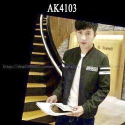 Áo Khoác Nam Kaki Lót Dù Pilot Landing Màu Xanh Rêu AK-4103 tdt