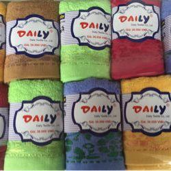 Khăn mặt DAILY 100 cotton tự nhiên giá sỉ