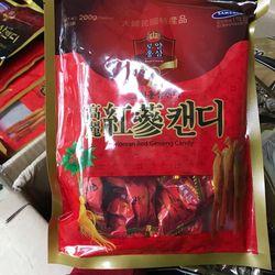 kẹo sâm có đường 200g hàn quốc giá sỉ