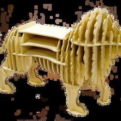 kệ sách hình sư tử