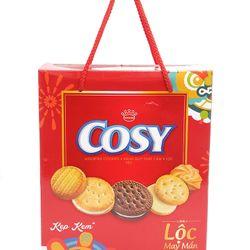 Bánh quy Cosy Kẹp kem 385g - 12 hộp/thùng giá sỉ