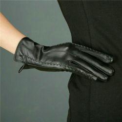 Lẻ 1 đôi găng tay da nữ cảm ứng