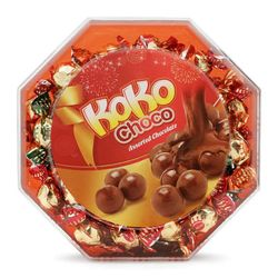 Kẹo Kinh Đô Choco hộp hình Bát giác 230g - 20 hộp/thùng