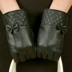 Găng tay da nữ mẫu Hàn Quốc
