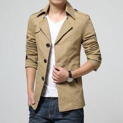 Áo khoác nam kaki dạng vest AK1 giá sỉ, giá bán buôn
