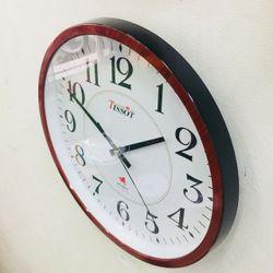 Đồng hồ treo tường vati S74- giả gỗ giá sỉ