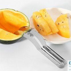 Dao cắt dưa hấu siêu nhanh inox không gỉ bổ dưa gọt dưa hấu trang trí dĩa trái cây GD43-DCDH giá sỉ
