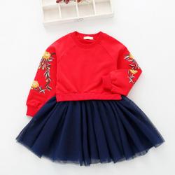 Set chân váy và áo cho bé gái