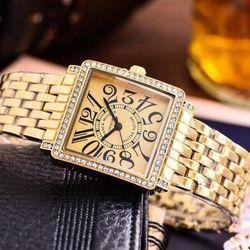 Đồng hồ nữ fm vuông giá sỉ