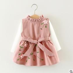 Set đầm mùa xuân cho bé gái