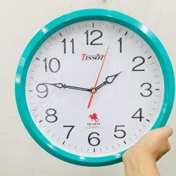 Đồng hồ treo tường D4 vati loại A bảo hành 2 năm Tặng 1 cặp Pin giá sỉ