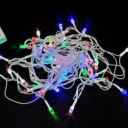 Dây đèn Led nháy nhiều màu dài 6m Mẫu ngẫu nhiên - ms 18384