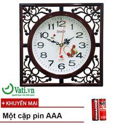 Đồng hồ treo tường S12 vati giả rẻ hạt dẻ giá sỉ