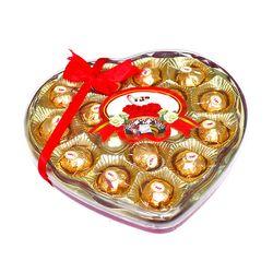 Combo 2 hộp Chocola hình trái tim viên tròn - ms 5498 giá sỉ