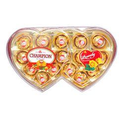 Hộp Chocola đôi tình nhân hình trái tim - ms 5500