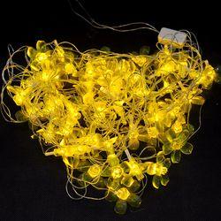 Dây đèn Led trang trí hình hoa mai 7m - ms 18396