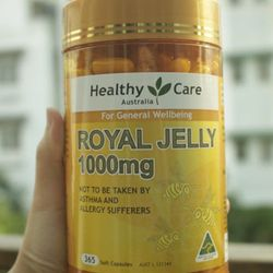 Sữa ong chúa Healthy Care Royal Jelly – MADE IN AUSTRALIA
