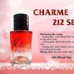 Nước hoa Nam Charme 212 sexy 50ml giá sỉ