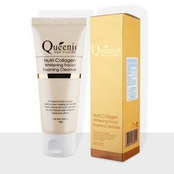 Sữa rửa mặt tạo bọt trắng da bổ sung Collagen Queenie 100g giá sỉ, giá bán buôn