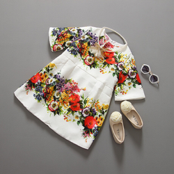 Đầm gấm hoa giá sỉ
