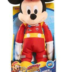Thú nhồi bông chuột Mickey đua xe Roadster Racers có nhạc giá sỉ