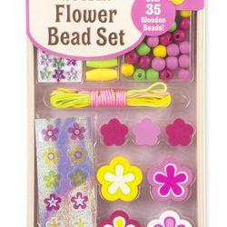Bộ trang trí phụ kiện bông hoa Melissa Doug Flower Bead Set