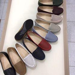 Giày Mọi Da Cắt Laze Trên Nền Giày-MS19VN210 giá sỉ