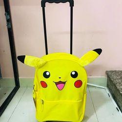 Balo kéo Pokemon Pikachu Rolling Backpack 16 inch giá sỉ