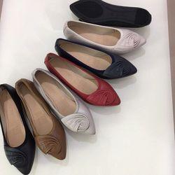 Giày Búp Bê Da Mềm Mũi Nhọn-MS07VN210 giá sỉ