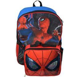 Balo Spiderman Homecoming Backpack 16 inch kèm túi đựng đồ ăn trưa giá sỉ