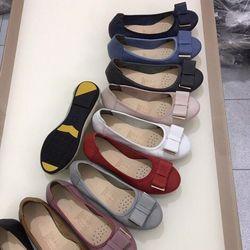 Giày Búp Bê Da Mềm Có Khóa-MS33VN210 giá sỉ