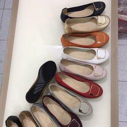Giày Búp Bê Da Mềm Có Khóa Vuông-MS39VN210 giá sỉ