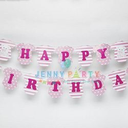 CỜ TRANG TRÍ HAPPY BIRTHDAY ÁO BABY GIRL