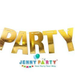 CỜ TRANG TRÍ GOLD PARTY