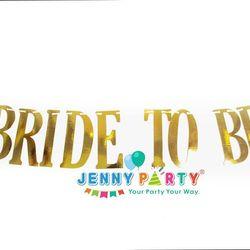 CỜ TRANG TRÍ GOLD BRIDE TO BE