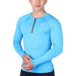 Áo tập gym nam tay dài dây kéo - ABTDDK giá sỉ